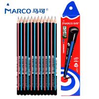 MARCO马可三角杆书写铅笔12支 送卷笔刀9003-12CB