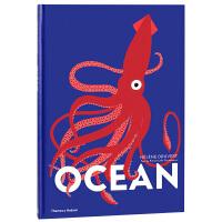 【T&H】Helene Druvert纸雕艺术儿童书 Ocean 海洋 英文原版翻翻书