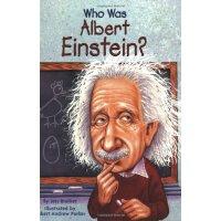 Who Was Albert Einstein? 漫画名人传记:阿尔伯特�q爱因斯坦 ISBN9780448424965
