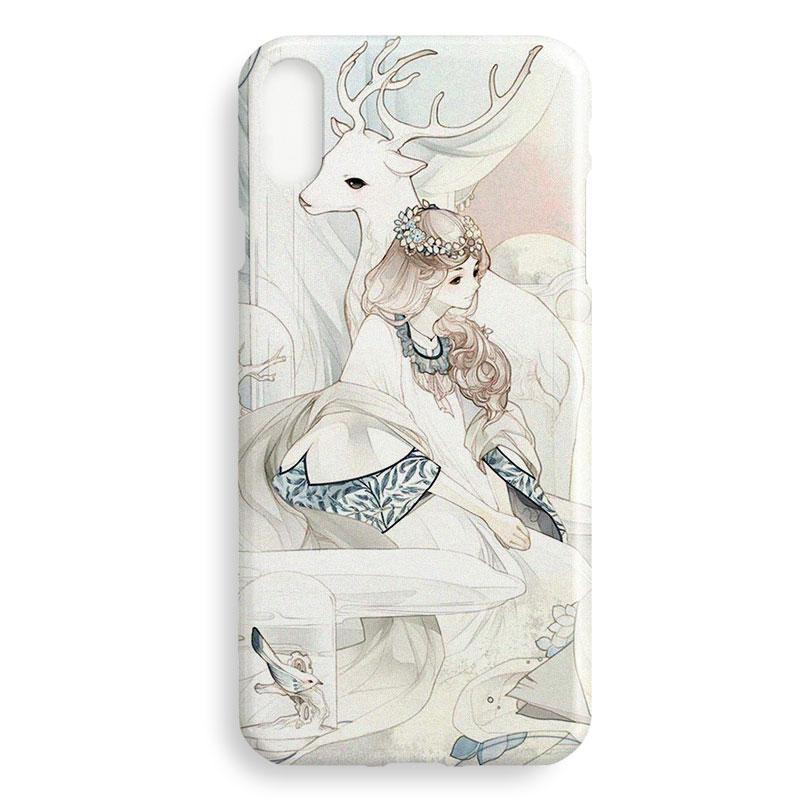 文艺和风原创意 女 苹果XS Max iphone XR 6 7 8 plus 手机壳 下单备注苹果手机型号