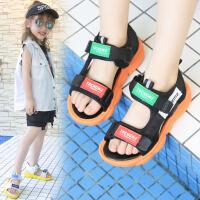 2019夏季新款女童凉鞋韩版时尚男孩童鞋中大童软底沙滩休闲鞋