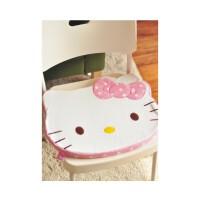 日照鑫 包邮  Hello Kitty 凯蒂猫卡通靠垫/毛绒软坐垫/办公椅垫/汽车坐垫(一个装)
