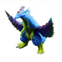 艾克斯奥特曼闪光玩偶系列 艾克斯变身器闪光银河赛罗软胶怪兽对战人偶模型