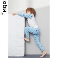 【1件3折:90】MQD男童内衣套装插肩袖儿童睡衣秋冬宝宝家居服小童空调服两件套