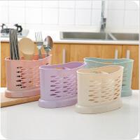 筷子盒家用厨房筷子沥水架多功能餐具置物架勺子筷子筒收纳架