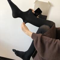 冬季女百搭外穿弹力连袜丝袜紧身打底裤厚袜子 均码