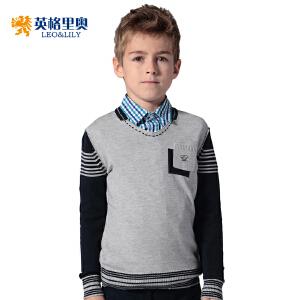 英格里奥童装男童装新款童装英伦风宝宝毛衣1248