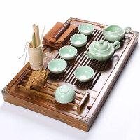 尚帝 杯架双龙茶盘 陶瓷紫砂茶具套装140506-388DYPG
