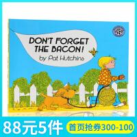 英文原版绘本 Don't Forget the Bacon 名家 Pat Hutchins 吴敏兰书单 绘本123 平装