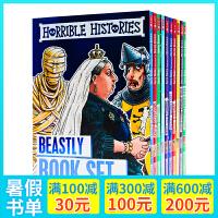 可怕的的历史10册轻量装Horrible Histories Foiled Classic Editions英文原版 桥