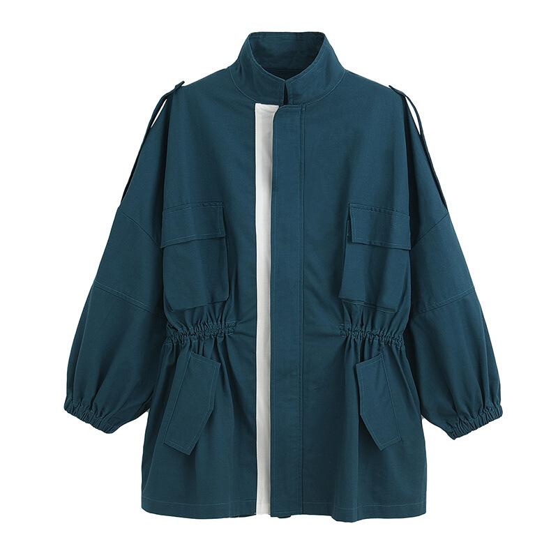 韩版矮个子宽松lulu风衣女秋装新款中长款收腰显瘦学生外套潮   预售商品     预售商品,请须知,到货后会在您下单后按先后顺序陆续为你发出,