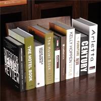 假书摆件家居装饰品北欧风简约现代书柜创意客厅软装仿真书装饰书