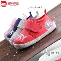 0-1-3岁儿童软底机能鞋宝宝鞋子2019儿童学步鞋男女童宝宝公主鞋