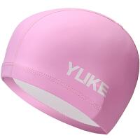 泳帽女长发防水硅胶游泳帽泳镜套装女士近视防雾游泳镜pu泳帽