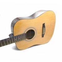 Jackson 木吉他 民谣吉他 41寸 初学 吉他 入门 云衫木面板 琴弦 经典原木色 GD-8送: 防雨背包 拨片