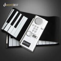 Iword诺艾61键手卷钢琴 折叠电子琴钢琴 儿童乐器批发B