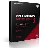 2020年剑桥PET考试真题 校园版 B1 Preliminary for Schools 1 for the Revised 2020 Exam Student's Book [真题集+答案+音频]