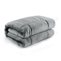 汽车抱枕被子两用加厚靠枕被子珊瑚绒办公室午休枕头折叠被靠垫 重约4斤 拉链款大号合上【50*50cm】打开【1