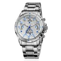 2018新款 艾奇 EYKI 石英男士手表 时尚全不锈钢多功能运动手表 商务休闲日历星期时装表 8643