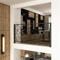 北欧铁艺阳台护栏拦杆楼梯扶手简约现代店铺家用室内外阁楼围栏