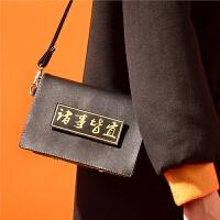 包包国风时尚女包 小黑包休闲斜挎小包 小方包