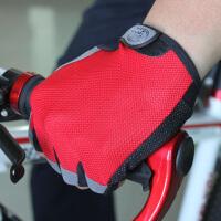 骑行手套自行车手套硅胶半指手套吸湿排汗运动手套男透气防滑手套