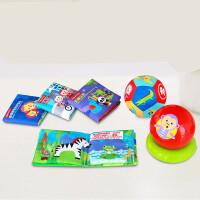 费雪(Fisher Price) 玩具球婴儿童训练球宝宝触觉感知球按摩球洞洞球摇铃球手抓球