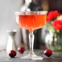 宽口刻花香槟杯复古水晶玻璃雕花杯高端鸡尾酒杯红酒杯高脚杯