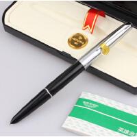 英雄 英雄100钢笔14K金笔半钢全钢 学生练字硬笔