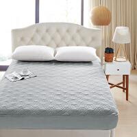 床笠单件纯棉厚夹棉床套席梦思保护套床罩全棉床垫罩床垫套防尘罩