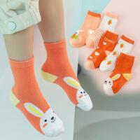 儿童袜子春秋宝宝婴儿袜棉袜童袜男童女童新生儿中筒袜秋冬季