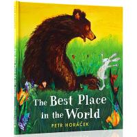 捷克�L本大��Petr Horacek 英文原版�L本 The Best Place in the World �和���g�⒚�