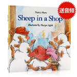 英文原版绘本Sheep in a Shop 小羊逛商店 廖彩杏推荐 朗朗上口 启蒙入门 韵文 儿童平装图画书