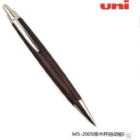 UNI三菱M5-2005木杆铅笔0.5 镀珞加原木