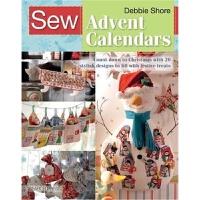 预订Sew Advent Calendars:Count Down to Christmas with 20 Styli