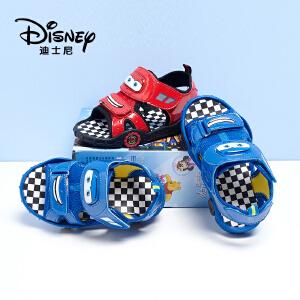 【达芙妮超品日 2件3折】disney/迪士尼赛车总动员系列男中童露趾儿童凉鞋