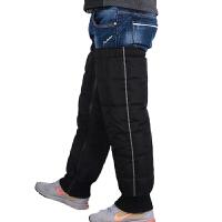 摩托车护膝加厚保暖男女冬季骑行护具防寒防水加长电动车羽绒护腿