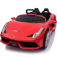 儿童电动车四轮遥控玩具车可坐人宝宝电动汽车小孩子婴儿摇摆童车zf10
