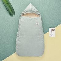 婴儿床上用品婴儿睡袋抱被抱毯防惊跳新生儿抱被秋冬加厚宝宝包被YW28