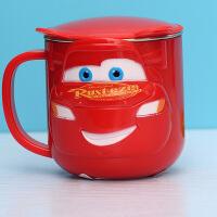 儿童马克杯卡通可爱防摔水杯不锈钢家用杯子小号口杯牛奶杯