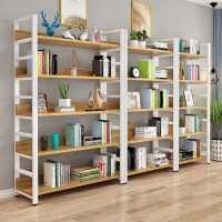 书架落地置物架多层铁艺储物架简约客厅书柜展示架组合书架子货架