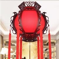 中式仿古宫灯古典灯笼阳台茶楼灯饭店餐厅红色喜庆结婚广告吊灯具