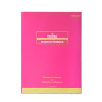 OXFORD APB41000D-2 红色 80页 办公室纯色系列 软面抄笔记事本学生笔记本 当当自营