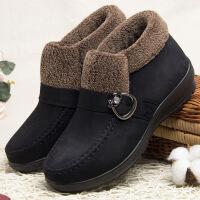 老北京布鞋女冬老人鞋太太棉鞋秋冬款二棉新款中老年妈妈鞋子