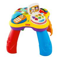 费雪(Fisher Price) 小狗皮皮学习桌多功能双语音乐游戏桌BJV34 婴儿宝宝早教学习 bjv34
