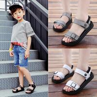 2019夏季新款韩版男童凉鞋时尚沙滩鞋童鞋中大童小孩儿童软底鞋