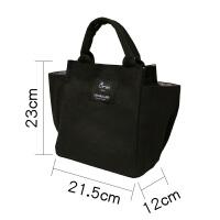 妈咪包小号手提包多功能小布包便当包帆布大容量带饭手提袋饭盒袋