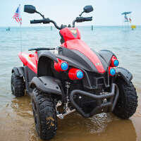 儿童电动车四轮双驱动摩托玩具车可坐人小孩汽车越野童车zf10