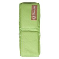 国誉(KOKUYO)PC32-YG 学生笔袋/变身帆布收纳笔筒/大容量笔盒 中号 黄绿当当自营