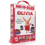 Ready to Read Olivia 6本盒装 OLIVIA's Sensational Stories Oliv
